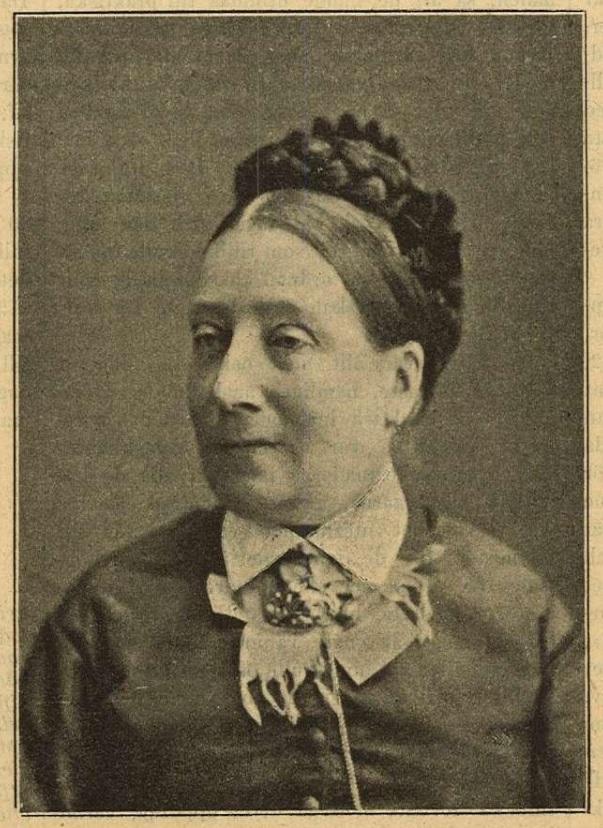 Fredrika Wennberg in Idun nr. 9, 1896. Photographer unknown (KvinnSam, Göteborgs universitets bibliotek)