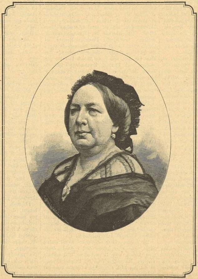 Lotten Wennberg in Idun nr 52, 1899. Artist unknown (KvinnSam, Gothenburg University Library)
