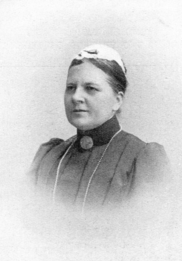 Beda Wennerqvist in Svenska kyrkans missionsarbetare 1876-1916, SKM, Uppsala, 1917. Photographer unknown