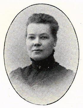 Maria Widebeck. Fotograf och år okänt. Bildkälla: Svenskt Porträttarkiv (CC-BY-NC-SA 4.0)