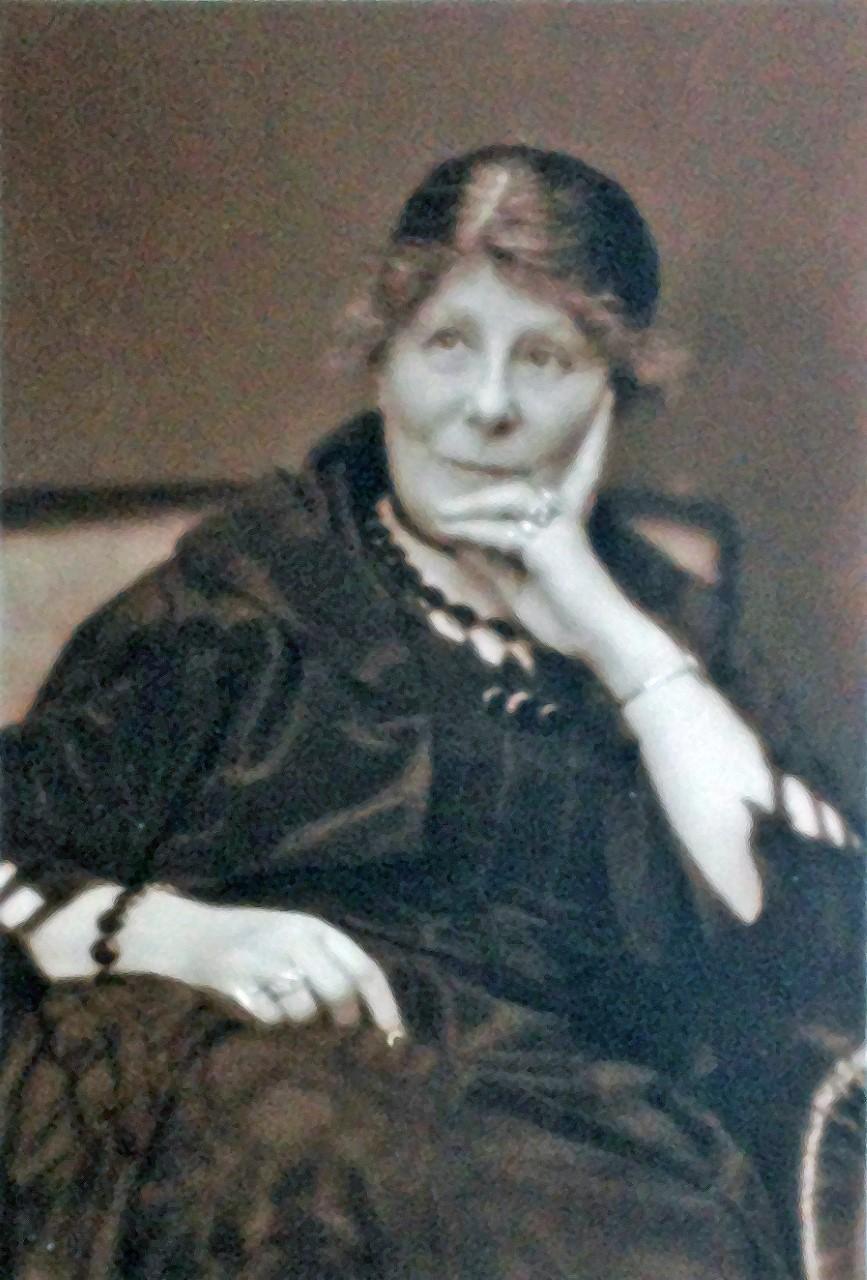 Thora Wigardh. Fotograf och år okänt (Medicinhistoriska museet)