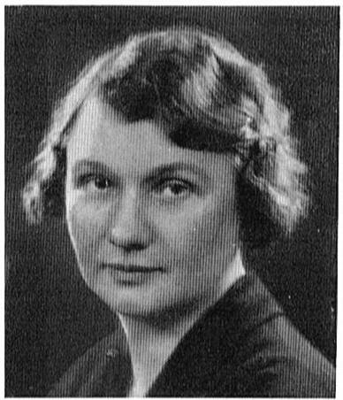 Märta Wikström avbildad i Sveriges advokatsamfund 1937: porträttgalleri, H. Brusewtitz AB, Göteborg, 1937. Fotograf okänd