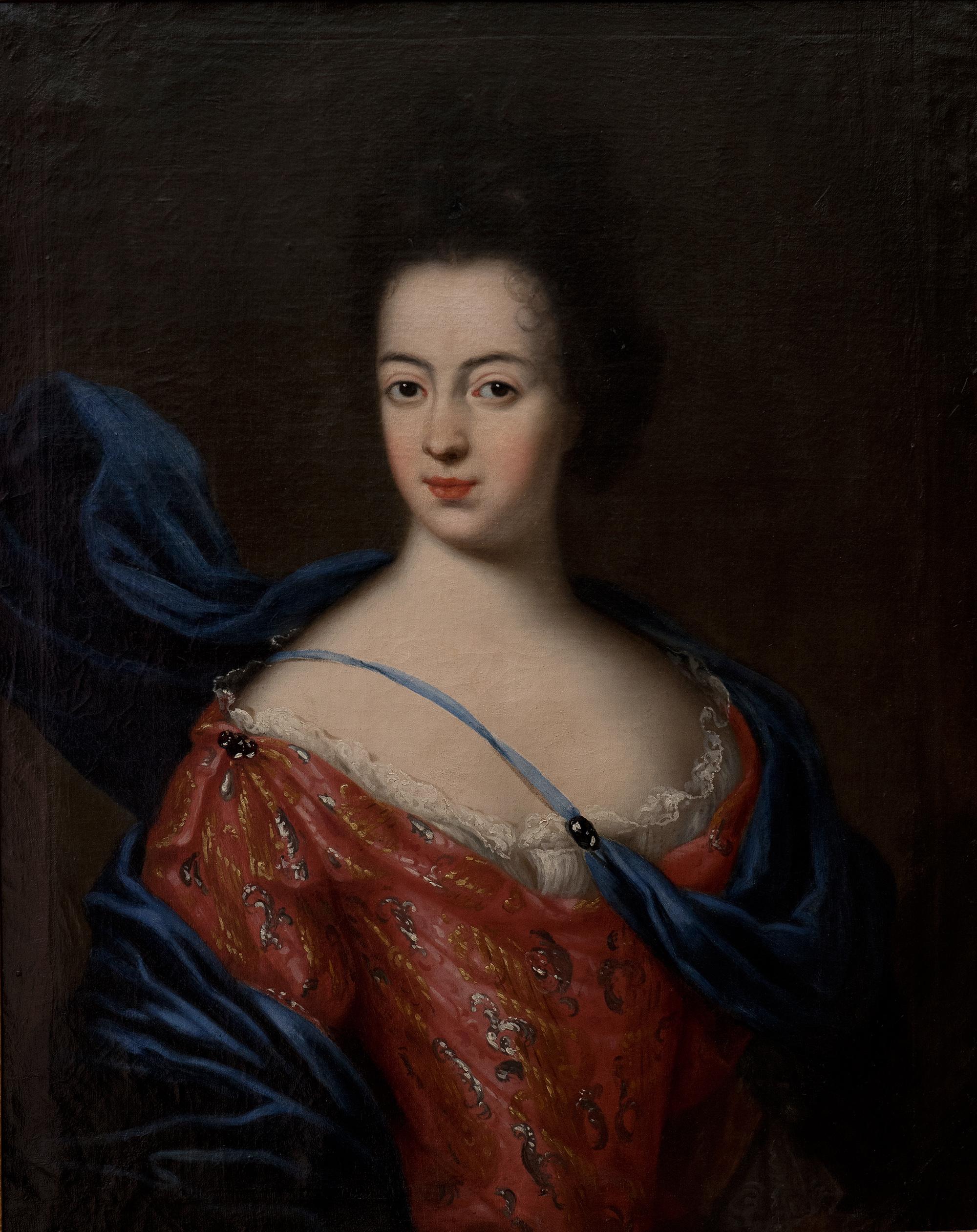 Agneta Wrede. Porträtt (olja på duk, 1692) av David Klöcker Ehrenstrahl (1623-1698). Foto: Jonas Karlsson, Östergötlands museum (B 4731)