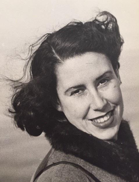 Joy Zandén, cirka 1947. Foto: Björn Helsing (bild i privat ägo)
