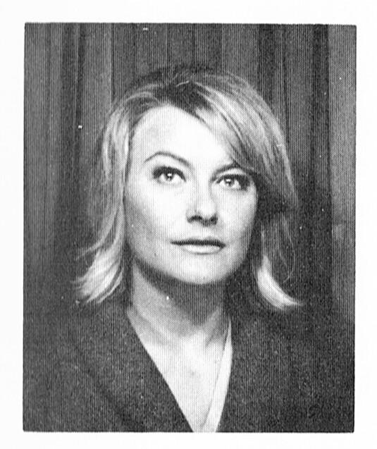 Monica Zetterlund. Fotograf och år okänt. Bildkälla: Svenskt Porträttarkiv (CC-BY-NC-SA 4.0; beskuren)