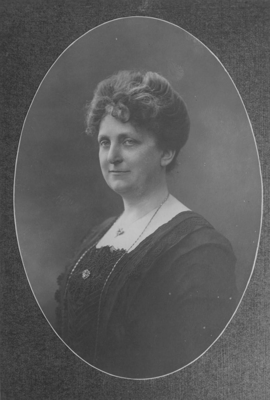 Edla af Klercker, 1913. Fotografer: Julie Laurberg & Franziska Gad, Köpenhamn (Akademiska Föreningens Arkiv, Lund)