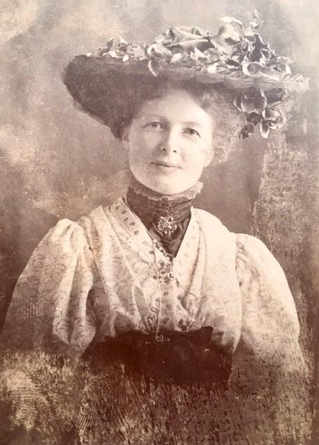 Gertrud af Klintberg. Fotograf och år okänt (bild i privat ägo)