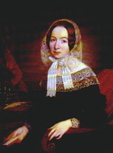 Fredrika Bremer, porträtt av Olof Södermark, 1843