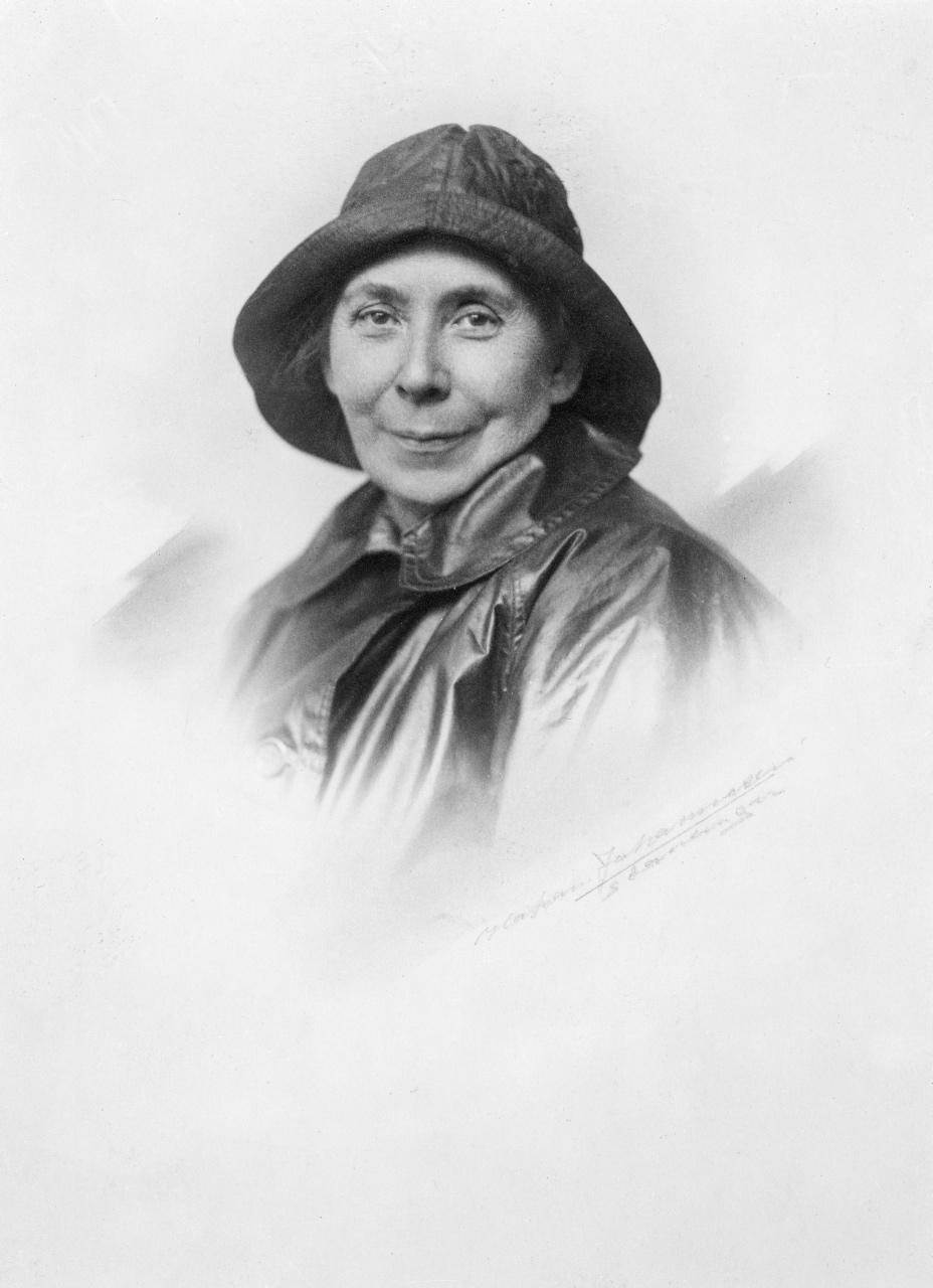 Kata Dalström. Fotograf: Okänd, skapad 1915-1920, fotonummer SSMF097470 (Stockholmskällan)